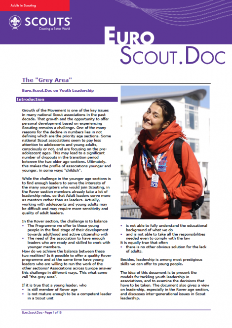 "EuroScoutDoc – The ""Grey Area"""