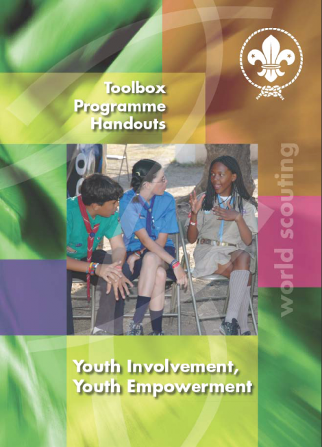 Youth Involvement, Youth Empowerment – Toolbox Programme handouts